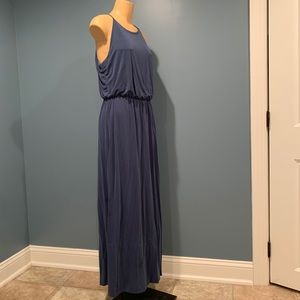 Gap Dusty Blue Maxi Dress